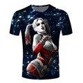 Novo coringa dc comics superhero 3d imprimir t-shirt dos homens das mulheres de verão estilo camiseta Carnificina Harley Quinn coringa t topos plus size