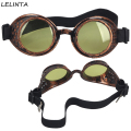 LELINTA 2016 New Selling 8 Colors Lens Unisex Gothic Vintage Welding Glasses Cosplay Eyewear Red Gothic Style Steampunk Goggles