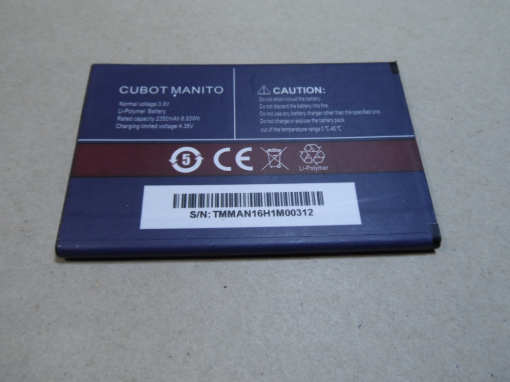 CUBOT MANITO Battery High Quality Original 3.8V 2350MAH Battery Replacement for CUBOT MANITO Smart Phone