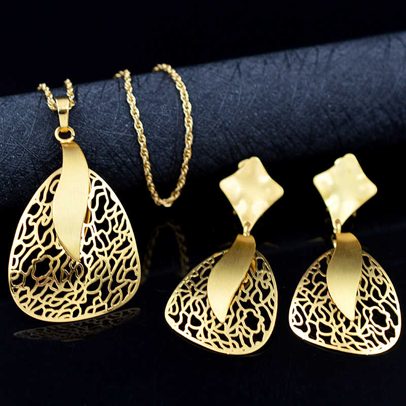 ZEADear Jewelry Romantic Jewelry Sets For Women Necklace Earrings Pendant Fairy Feather Jewelry Sets For Party Wedding Jewelry
