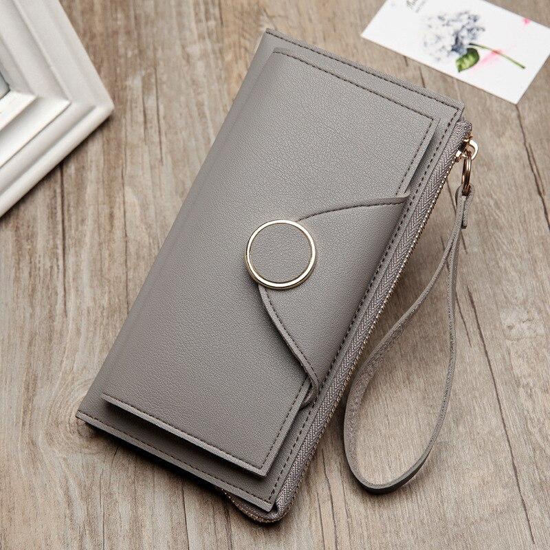 Women Money Bag Purse Wallet Female Long