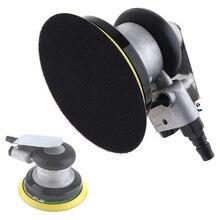 Papel de lija neumático por impulso de 5 pulgadas, lijadora de aire Orbital aleatoria, máquina de molienda pulida, herramientas de mano