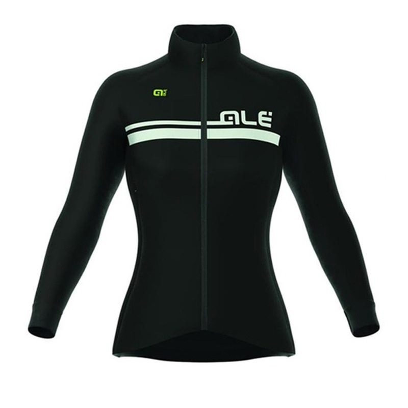 ALE 2018 Womens Cycling Long Sleeve Sweatshirts Mountain Biking Clothes High Quality Road Biking Roman ciclismo Cycling Apparel