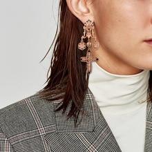 Personality Design New Cross Earrings