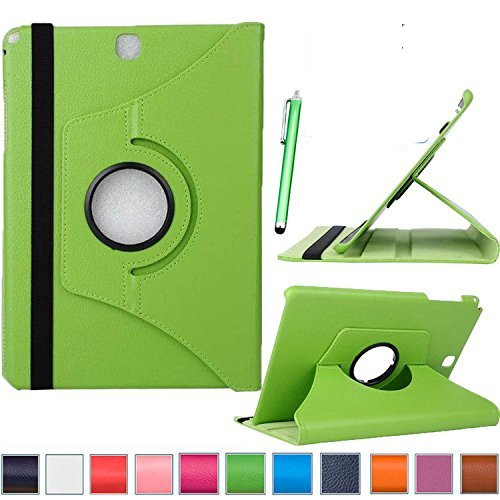 360 Rotation Case for Samsung TAB A 9.7 SM T550 Flip Smart PU leather Case For Samsung Galaxy Tab A 9.7 T555 T550 P550 9.7Funda pu leather case stand cover for samsung galaxy tab a 9 7 sm t550 t555 p550 9 7 360 rotating tablet smart flip cover sm t550