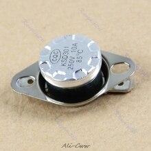 1/5/10 шт 250V 10A KSD301 NC термостат Температура переключателя биметаллические задние дисковые тормоза подходит для бытовой электрический Приспособления