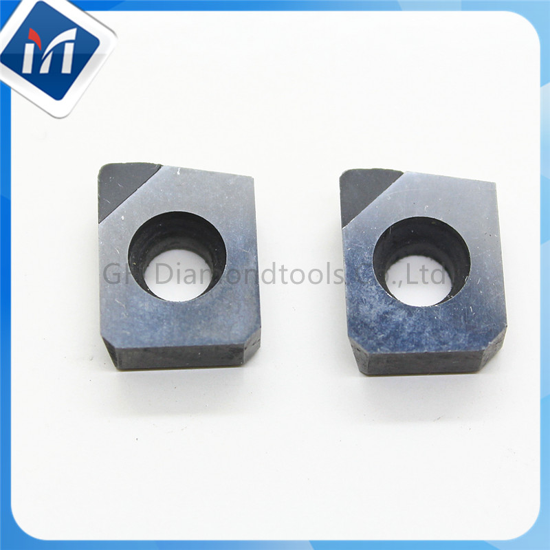 Diamond PCD Face Milling Cutter insert and cartridges diamond cnc Carbide lathe cutter APKT SNEW TEEN full face pcd inserts rngn0904