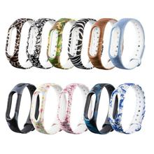 Smartband Strap for Xiaomi MiBand 2 Replacement Silicone Smart Wristband Watch Band Strap for Miband2 M2 Smart Band Belt Strap