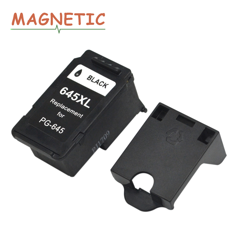 Magnetic PG645 Compatible Ink Cartridges For Canon Pixma MG2460 MG2560 MG2960 MG2965 MG2460 printer ink cartridge PG 645 PG-645 image