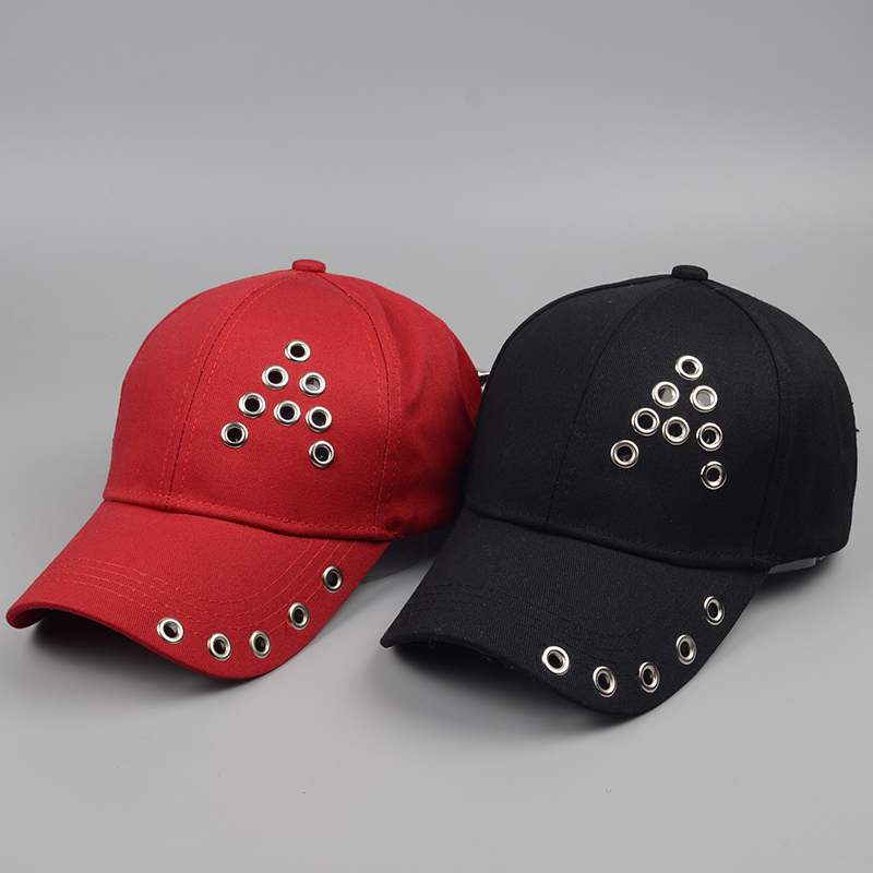[Swing giant shark] 2018 new fashion womens baseball caps punk wind hip-hop snapback caps mens bone Liu hats hats