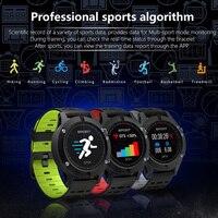 2018 SMART Watch F5 GPS Heart Rate Monitoring Bluetooth 4 2 Temperature Measurement Smartwatch Waterproof Multifunction