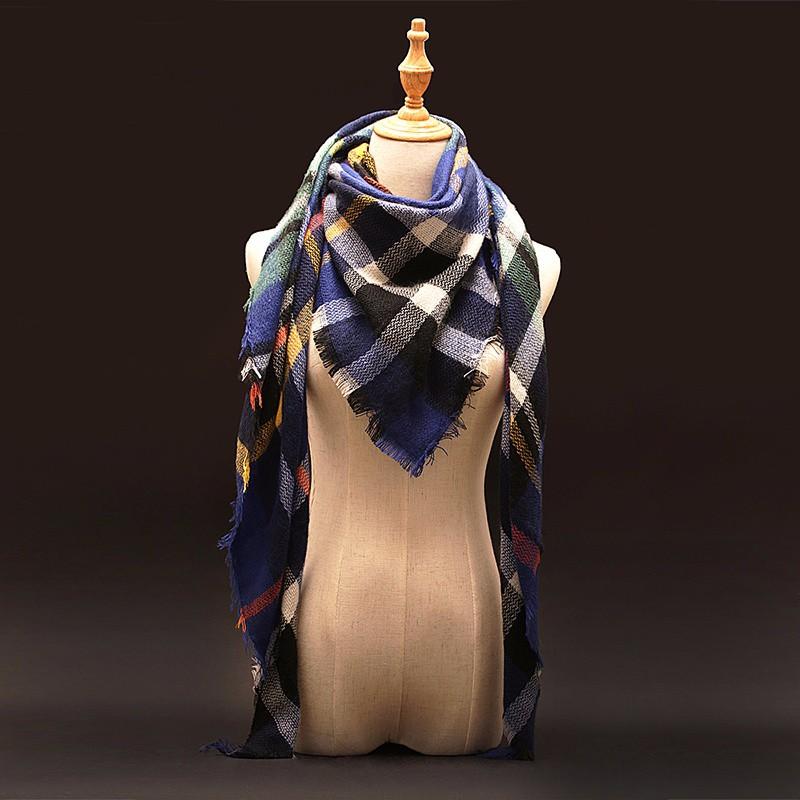 Tartan Plaid Cashmere Scarf | Shawls and Wraps | Upto 60% Off Now