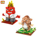 LOZ Inside Out Action Figures Classical DIY Assemble Model Toy Present Gift 2016 Hot Sale Style