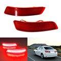 Для Toyota Lexus GS250 Corolla2014/350/450 H/ES250/ES300/E Резервное Копирование Хвост Заднего Бампера лампы LED Рефлектор остановка стоп противотуманная фара