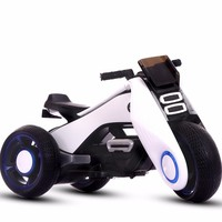 Free shipping Children Motor driven Motorcycle Child Tricycle Toys Automobile Baby Can Sit People Super Environmentally friendly