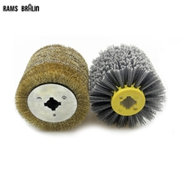 2 in 1 Woodwooking Polishing Wheel Brush 120*100*19mm Drum Sander Tools for Woodworker