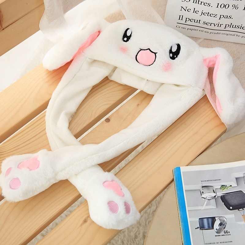 Işe alım Ajanı Trill Ile Sıcak Oyuncaklar Tavşan Tavşan Bir Tutam Toplantı Eylem Tavşan Kulaklar Şapkalar Yetişkin doğum günü hediyesi Kadın