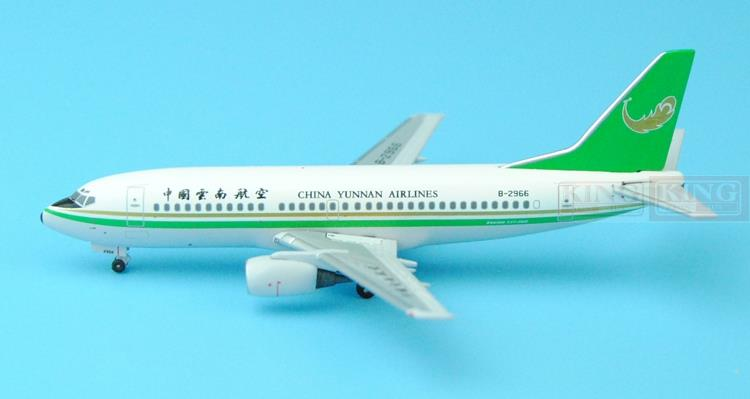 006/007 SKYWINGS China Yunnan Airlines 1:400 B737-300 commercial jetliners plane model hobby