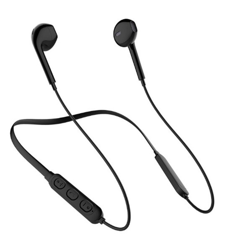 sport Magnetic Metal Wireless Bluetooth Earphone 5.0 working 5-8H Stereo With Mic for 10 <font><b>tws</b></font> <font><b>12</b></font> all Smartphone Neckband 250MAH image