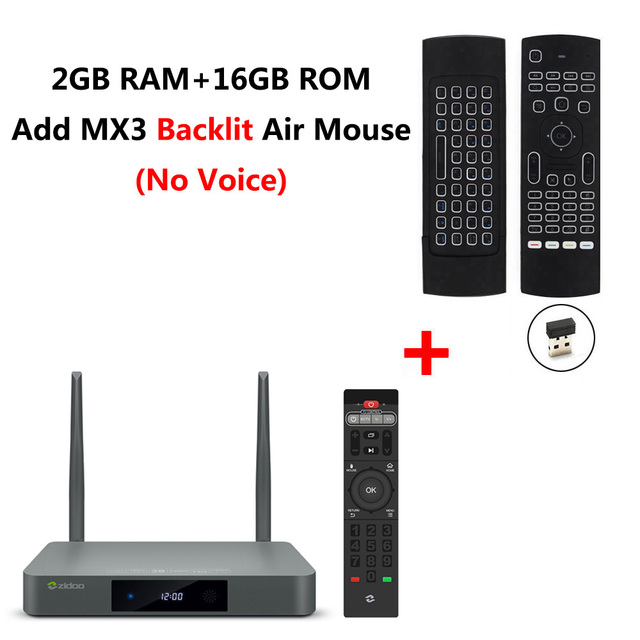 Zidoo X9S Android 6 0+OpenWRT NAS Smart TV Box Realtek RTD1295 2GB 16GB  Bluetooth 4 0 USB 3 0 SATA 3 0 Dolby DTS-HD Media Player