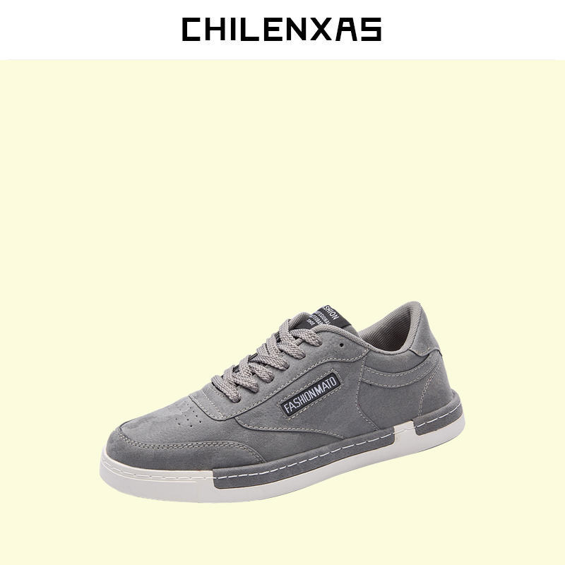 CHILENXAS 2017 Spring Autumn Suede Leather Shoes Men Casual Breathable Lace-up Solid Comfortable Waterproof Light New Fashion micro micro 2017 men casual shoes comfortable spring fashion breathable white shoes swallow pattern microfiber shoe yj a081