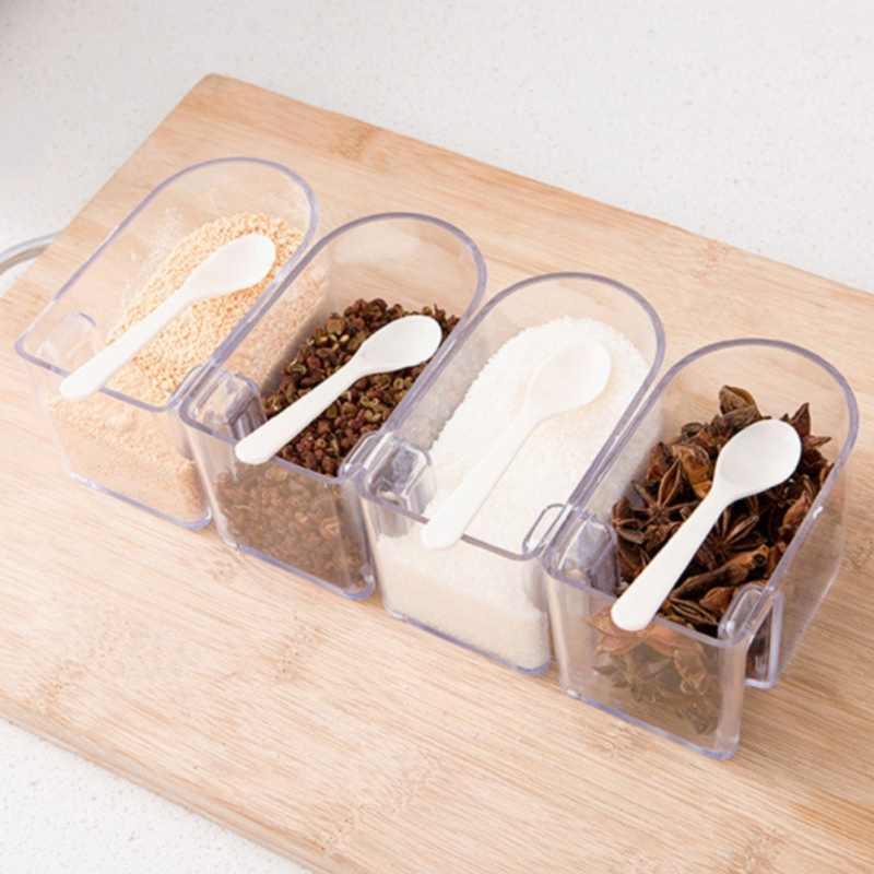 2/3/4-poziom 360 stopni obrotowy uchwyt ścienny stojak na przyprawy przyprawy pudełko do przechowywania stojak na przyprawa kuchenna garnki pojemnik kuchnia narzędzia