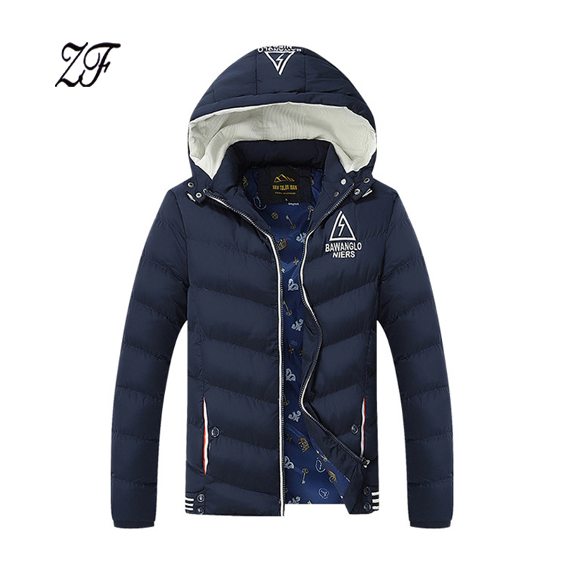 Подробнее о Winter New Thick Men Jackets  Men's Casual Hooded Cotton padded Coats Male Fashion Winter Jacket Thick Cotton-padded Clothes perfect 2016 winter mens down jackets men breathable thick coats spring cotton padded outwear casual male feather jacket uma303