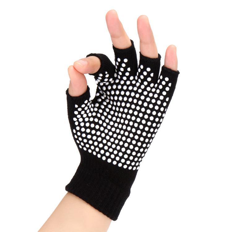The Cheapest Price Women Anti-skid Gym Training Fitness Gloves Half Finger Gloves Shock-absorbing Breathable Sports Gloves San0