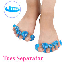 Silicone Soft Form Toe Separator Gel Toe Stretcher & Separator: Instant Therapeutic Relief For Feet Fight Bunions Hammer Toes