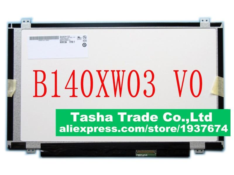 AU Optronics B140XW03 V.0 B140XW03 for Lenovo G400S G405S U460 Y480 Slim LED Display Laptop LCD Screen Matrix ulgran u 405 sand