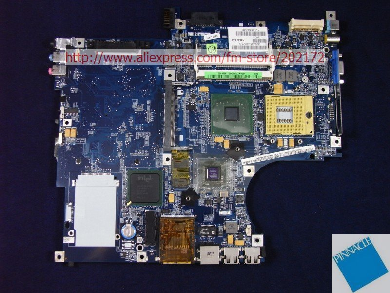 MBAXY02005 Motherboard for Acer aspire 3690 5610 5610Z 5630 5650 5680 LA-2922P HBL50 LA6tested good mbpec0b009 motherboard for acer aspire 3810t 3810tg 3810tz 6050a2264501 su2700 cpu tested good