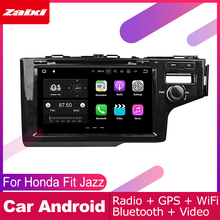 ZaiXi android car dvd gps multimedia player For Honda Fit Jazz 2013~2019 car dvd navigation radio video audio player Navi Map