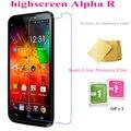 5 pcs Super Clear Filme Protetor de Tela para Highscreen Alpha R Guarda Películas Protetoras de Tela Transparente