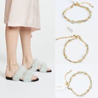 2018 Time limited New Trendy Halhal Anklets Leg Bracelet Anklet Foot Jewelry Beach Wedding Bridesmaid Gift Handcrafted Dainty