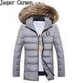 Free shipping 2017 new winter hooded high quality long cotton wadded coat thickening warm coat men down jacket  110yw