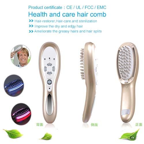 High Frequency Vibrating font b Hair b font Follicle Stimulator font b Hair b font Growth