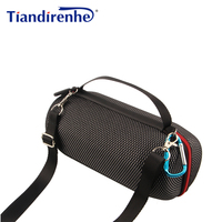 Newest Grid Case for JBL Charge 3 Carry Pouch Bag Cover Case for JBL Bluetooth Speaker Zipper Travel Protective Shoulder Box|Speaker Accessories| |  -