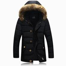 Мужские пальто на Вате Мода Бейсбол Куртка Зимняя Куртка Мужчины Тонкий Jaqueta Masculina Теплая Ватные Packable Спортивной (Азиатский Размер)