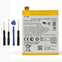 Original High Capacity C11P1507 Battery For ASUS ZenFone Zoom ZX551 ZX550 ZX551ML Z00XSB 2900mAh все цены