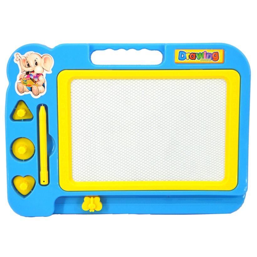 Children Kid Magnetic Writing Painting Drawing Graffiti Board Toy Preschool Tool . Q30 AUG9