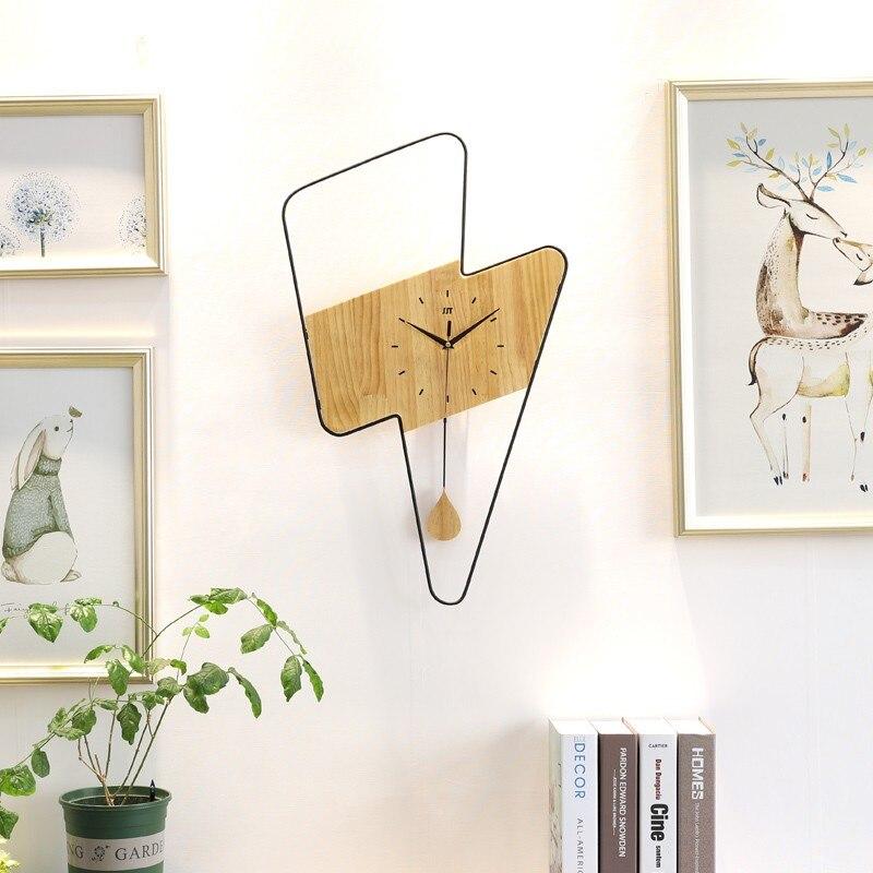 3D bricolage acrylique horloge murale moderne cuisine décor à la maison horloge murale autocollant creux chiffre horloge design moderne grand grand