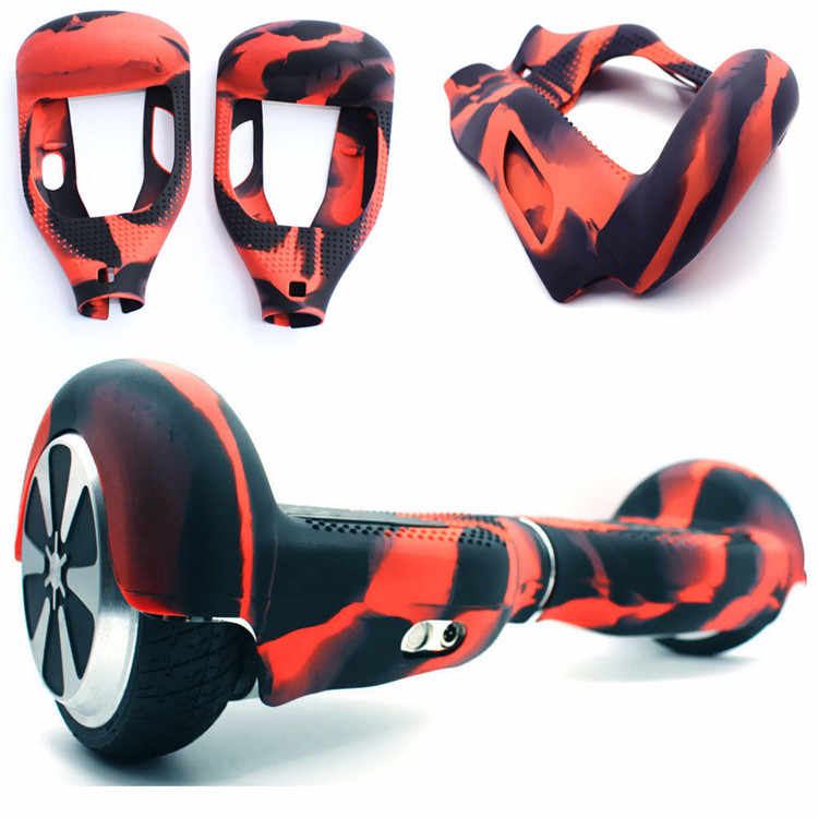 """Anti Scratch Sleeve/Wrap/Enclosure 6.5"""" 2 Wheels Self Balancing Electric Scooter Silicone Case Cover for Hoverboard Skateboard"""