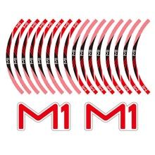 KODASKIN Decal Big Wheel Rim Motorcycle 2D Emblem Round Sticker for NIU M1