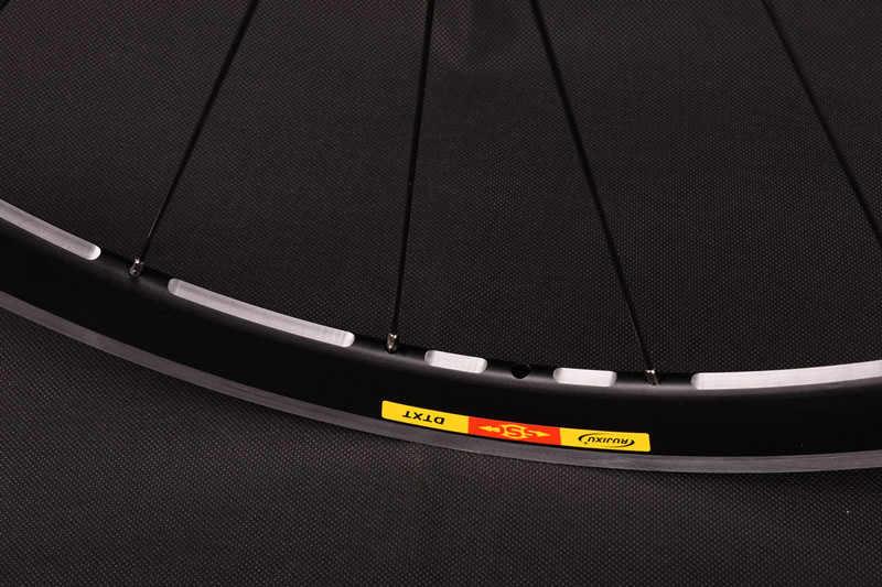 700c האולטרה 40mm עומק 19mm רוחב V בלם סגסוגת אופני זוג גלגלי בלם Bmx אופניים כביש גלגל