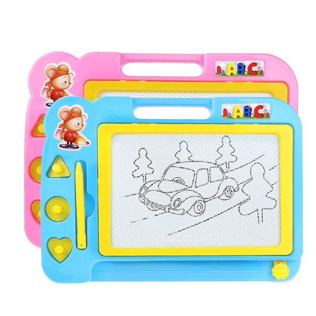 2017 HOT 2 Color Car Kid Color Magnetic Writing Painting Drawing ...
