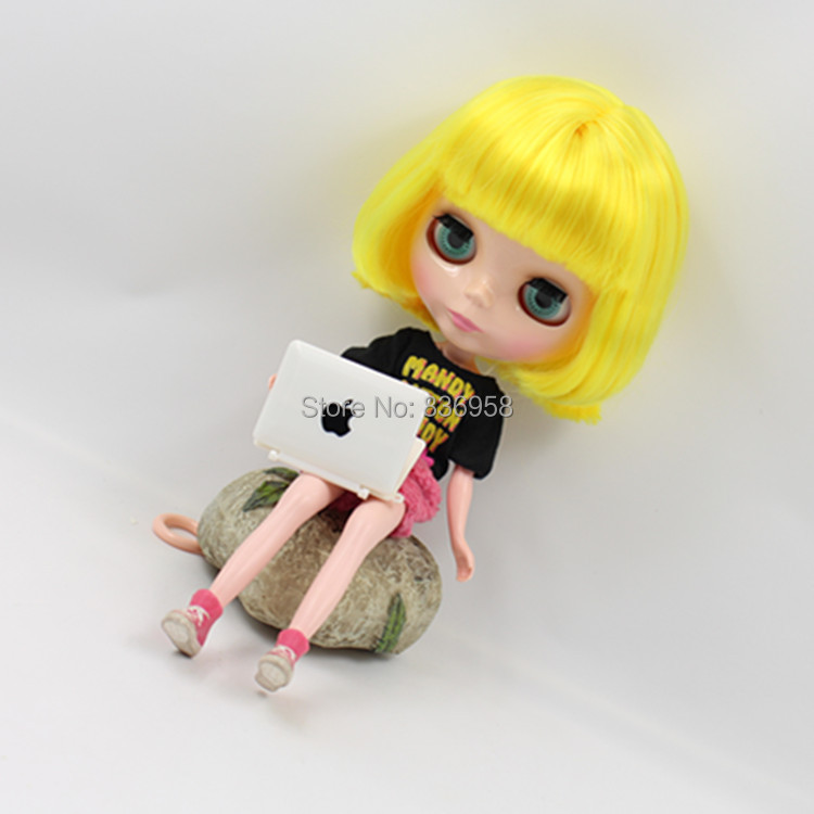 Nude Doll For Series No 3208 DEEP YELLOW HAIR