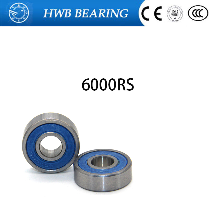 Free Shipping Si3N4 hybrid ceramic ball bearing 6000-2RS 10x26x8mm (si3n4 balls+gcr15 steell rings) 6000 2RS 6000RS 10*26*8mm 15267 2rs 15 26 7mm 15267rs si3n4 hybrid ceramic wheel hub bearing