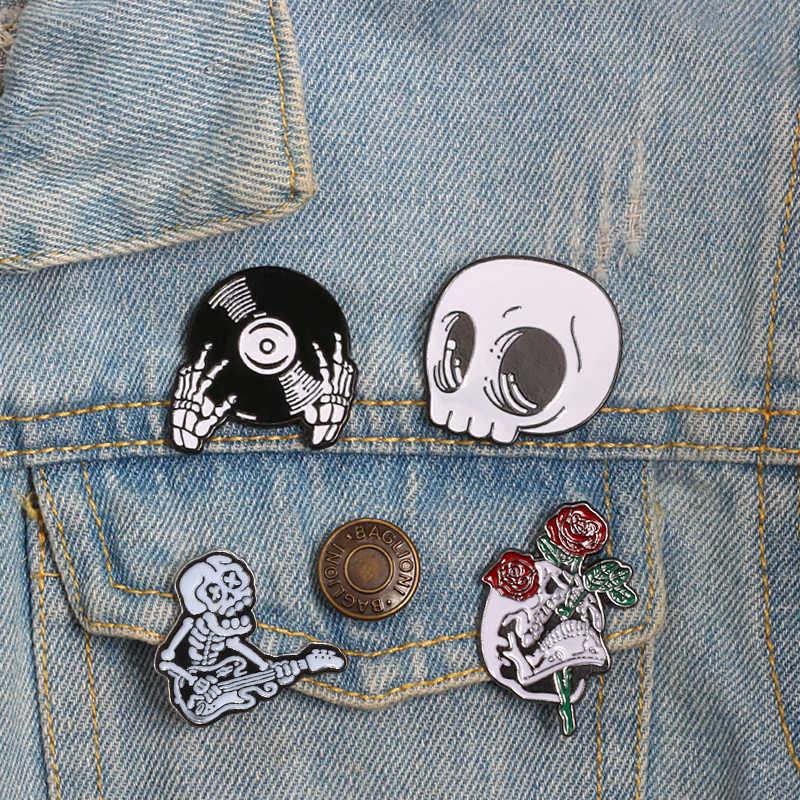 Enamel Pin matches Cartoon Lapel Button Badges never knows