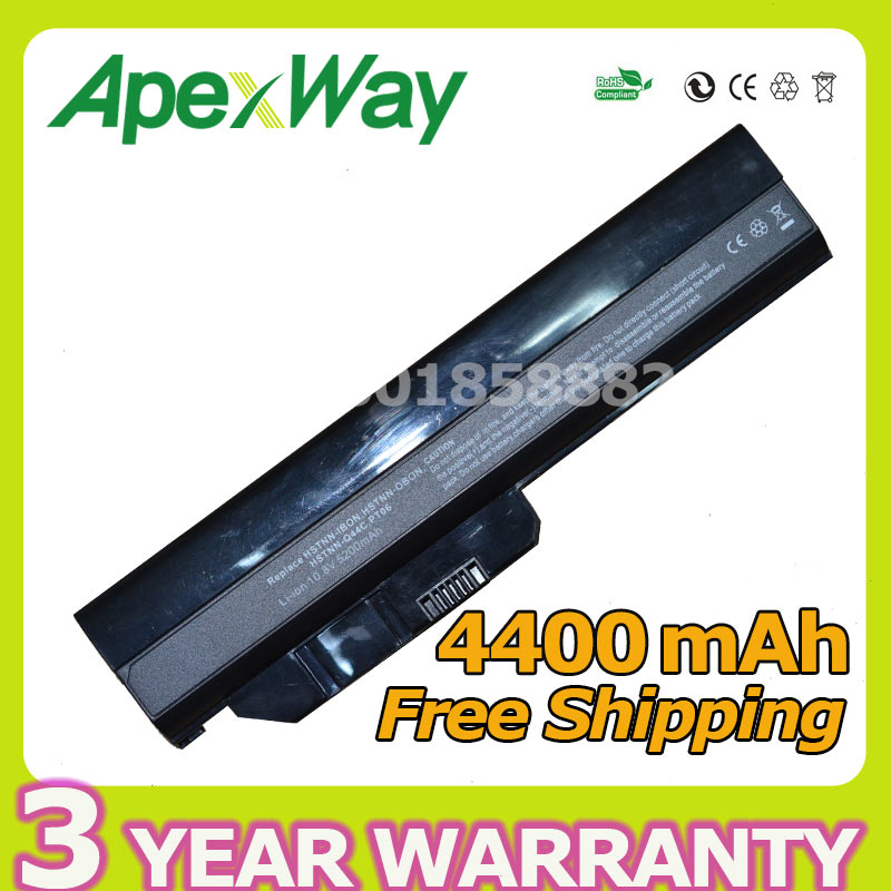 Apexway 6 zellen akku für hp pavilion dm1 dm1-1100 628419-001 572831-121 572831-361 572831-541 7f0994 hstnn-db0n
