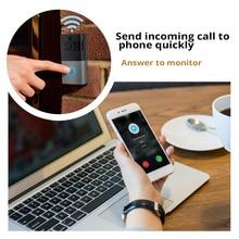 WIFI Doorbell Intercom Wireless Video Door Bell Camera Battery Power